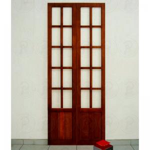 Conjunto de Porta Camarão 10 vidros- Cedro