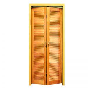 Folha de porta Camarão Veneziana padrão Cedro